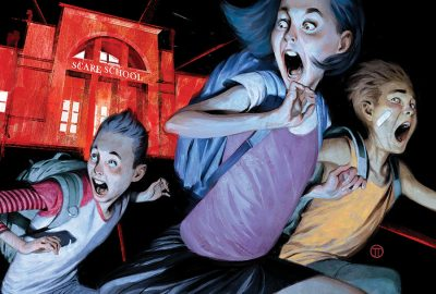 DISNEY+ greenlights 'JUST BEYOND' Series, based on Best-Selling Graphic Novel by R.L. Stine 4