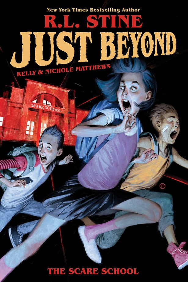 DISNEY+ greenlights 'JUST BEYOND' Series, based on Best-Selling Graphic Novel by R.L. Stine 1