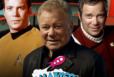 Star Trek's William Shatner and Jonathan Frakes at GalaxyCon Live 6