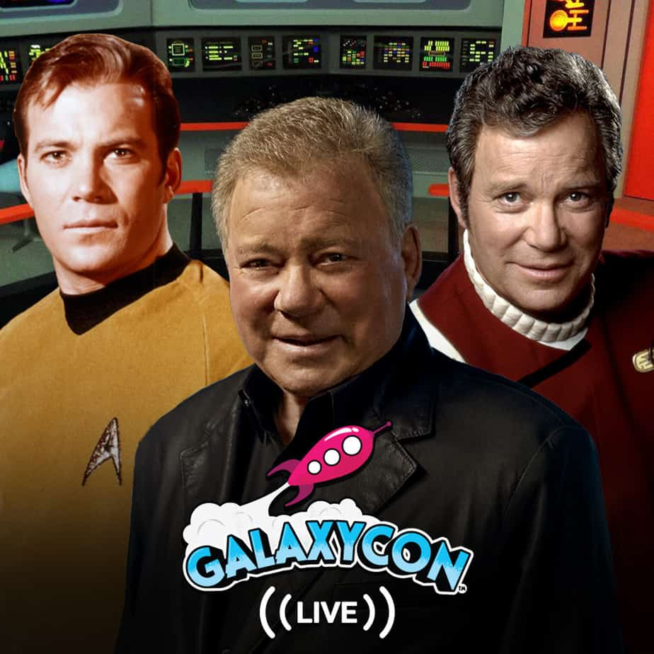 Star Trek's William Shatner and Jonathan Frakes at GalaxyCon Live 2