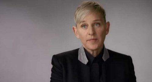 Visible Out On Television Ellen Degeneres
