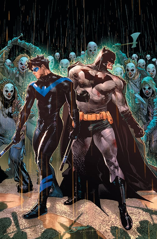 DC Comics Cover reveal: Batman #98 and #99 1