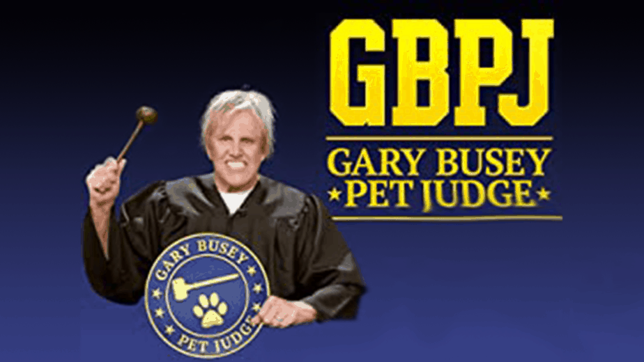 GARY BUSEY PET JUDGE (2020) - THE ULTIMATE FORM OF PET JUSTICE 1