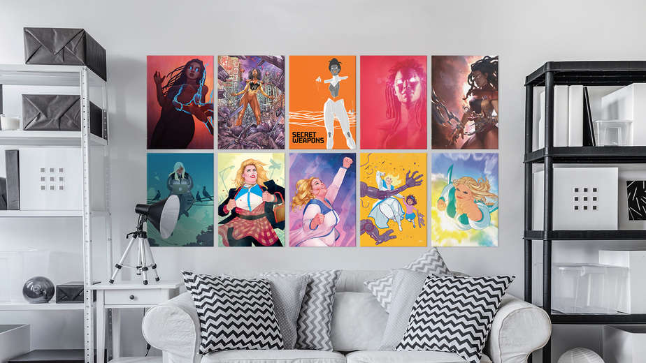 Comic Book Company signs deal with Displate to offer Stunning Posters 1