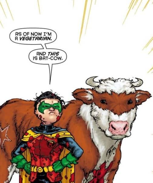 Bat-Cow from Batman Incorporated.