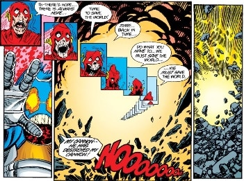 The Flash - Barry Allen - dies in Crisis on Infinite Earths