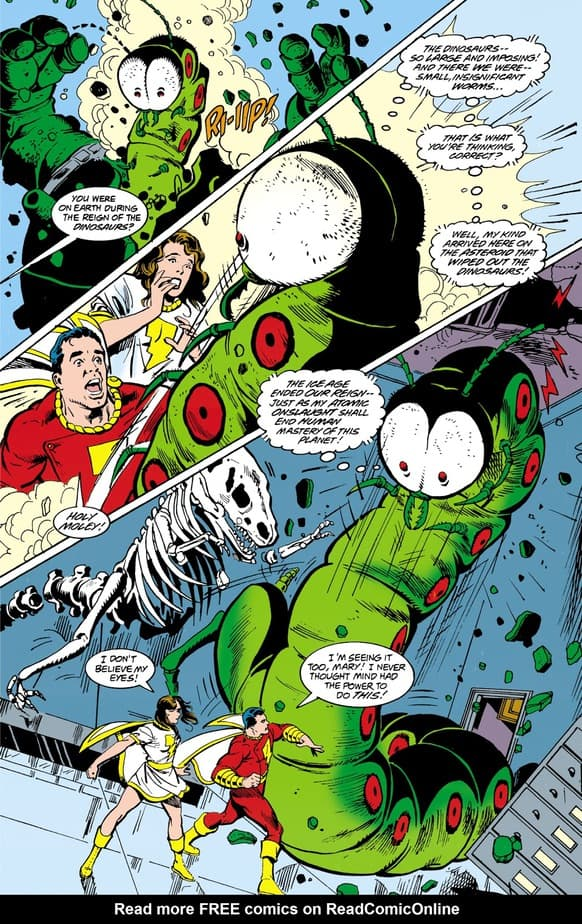 DC Comics Presents: Shazam! #1-The Big Red Cheese vs. a Worm 2