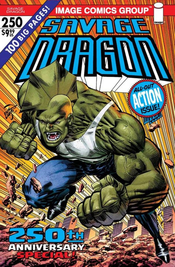 Savage Dragon #250 Sells Out at Distributor Level, Rushed back to Print