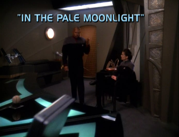 In the Pale Moonlight-The Best Episode of all of Star Trek 5