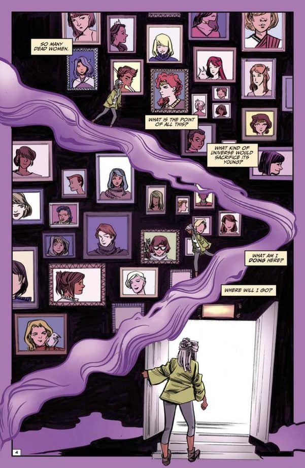 Pondering the universe in Ash & Thorn #3