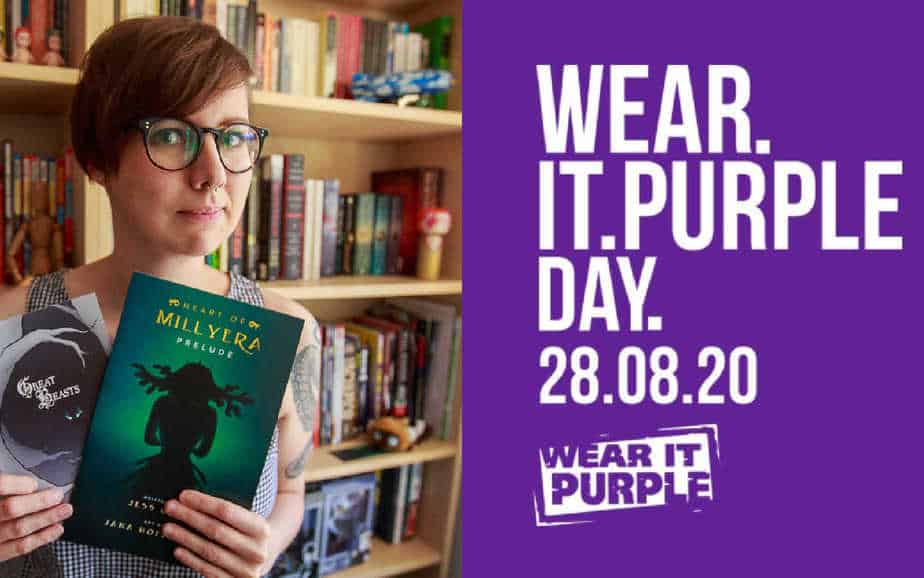 Jess Cate Talks Webcomics and Wear It Purple Day