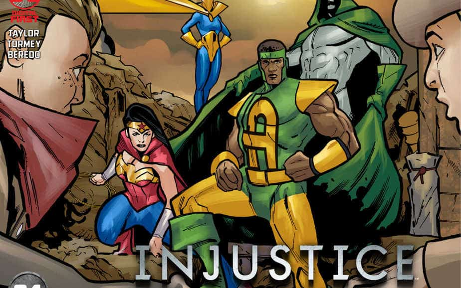 DC Comics reveals Injustice: Year Zero 4