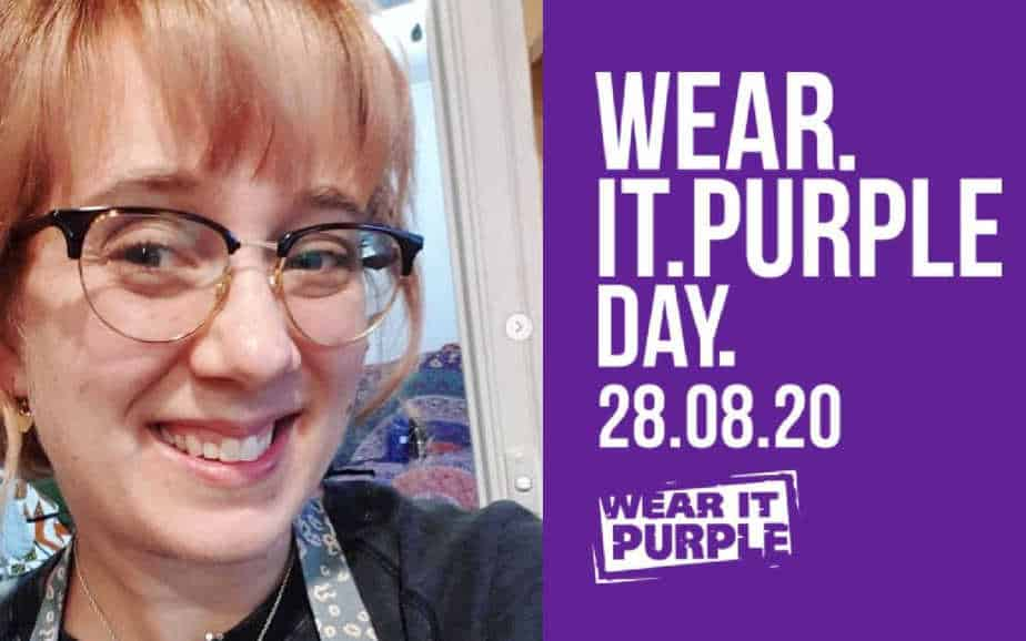 Anthea Wright talks Drawing Comics & Wear It Purple Day