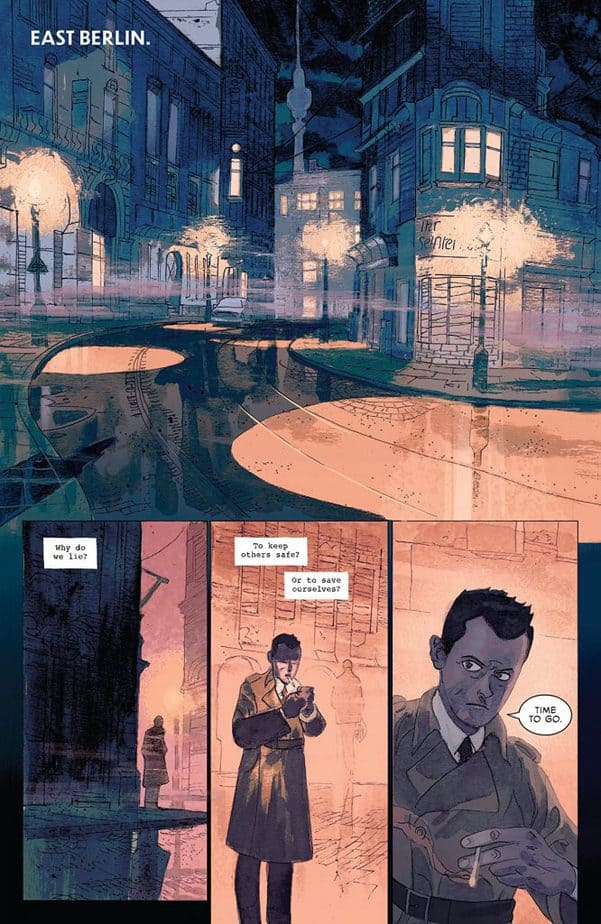 Strange Skies Over East Berlin #1 Review 3