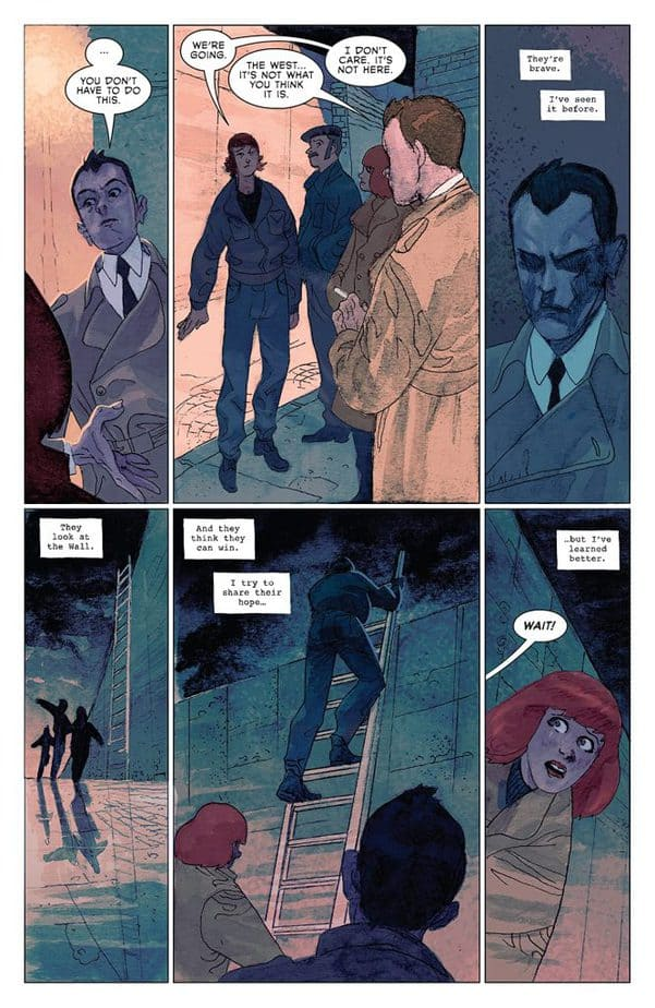 Strange Skies Over East Berlin #1 Review 1