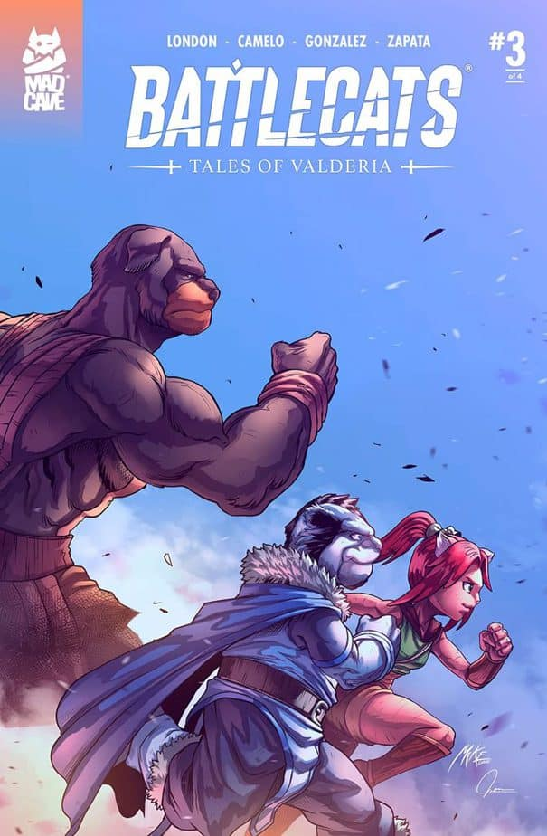 Battlecats: Tales of Valderia #3 Review 4