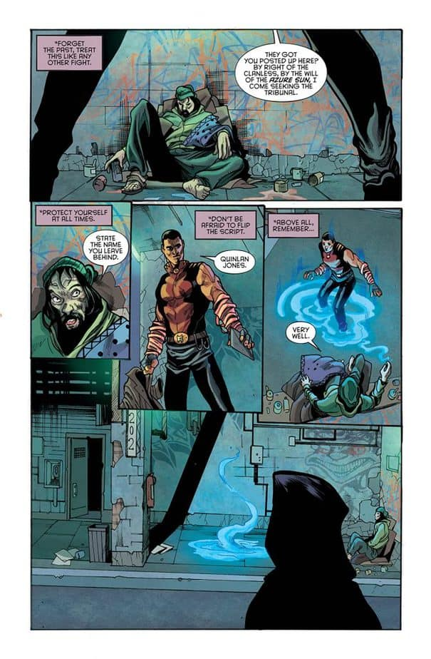 Hellfighter Quin #1 Review 2