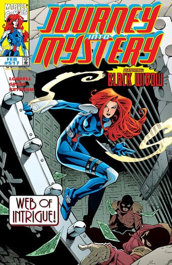 Journey Into Mystery Featuring Black Widow #517-519 Review 1