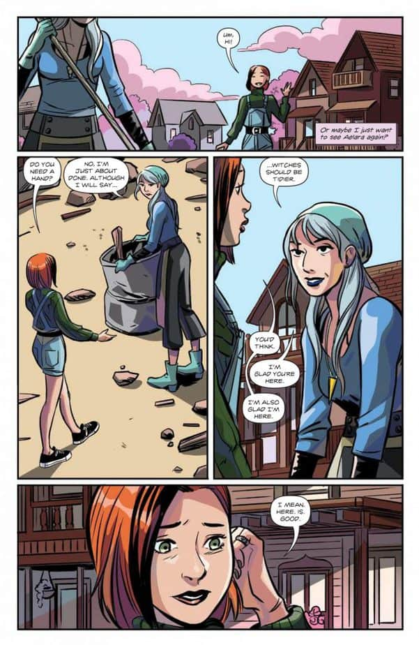 Buffy the Vampire Slayer: Willow #3 - Review 4