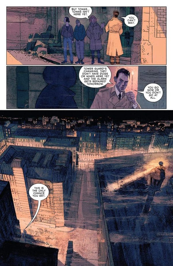 Strange Skies Over East Berlin #1 Review 2