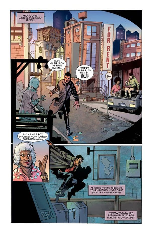Hellfighter Quin #1 Review 3