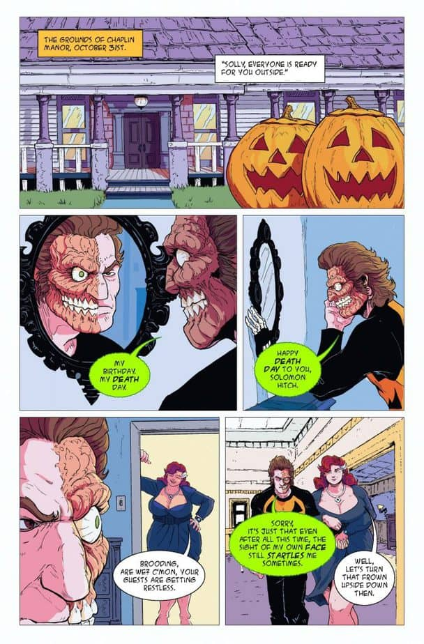 Drew Edwards Celebrates 20 Years of Halloween Man with Issue #25 2