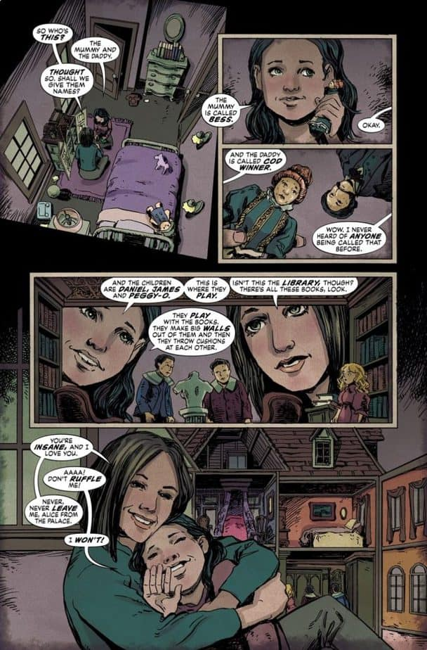 Joe Hill's The Dollhouse Family - A Graphic Novel Review 2