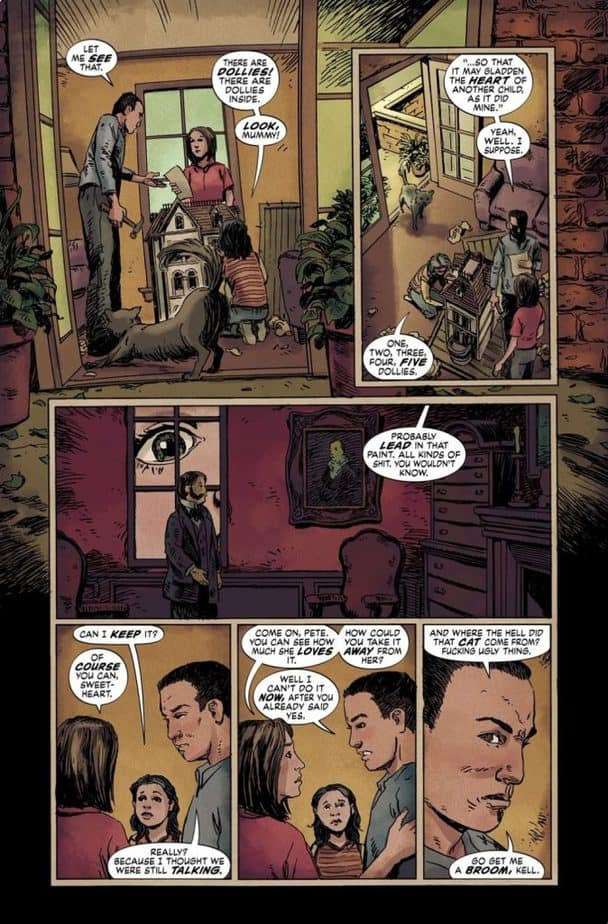 Joe Hill's The Dollhouse Family - A Graphic Novel Review 4
