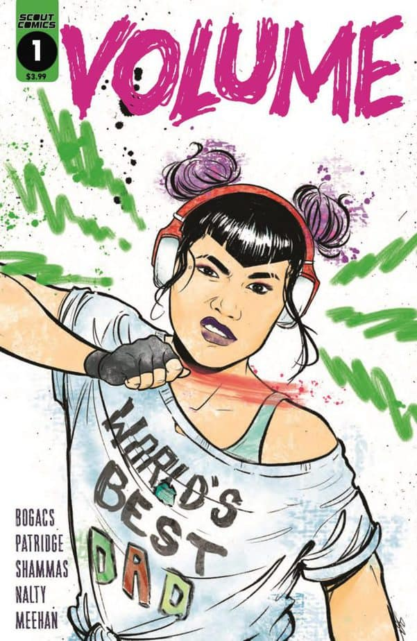 Scout Comics Announces New Series VOLUME By Aussie Writer 5