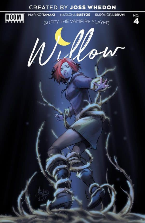 Buffy the Vampire Slayer Willow #4 - Review 3