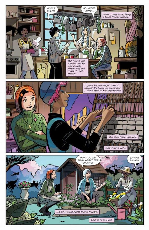 Buffy the Vampire Slayer Willow #4 - Review 7