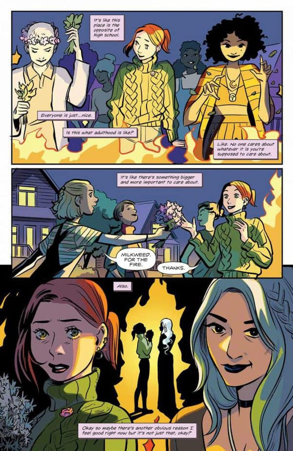 Buffy the Vampire Slayer Willow #4 - Review 8