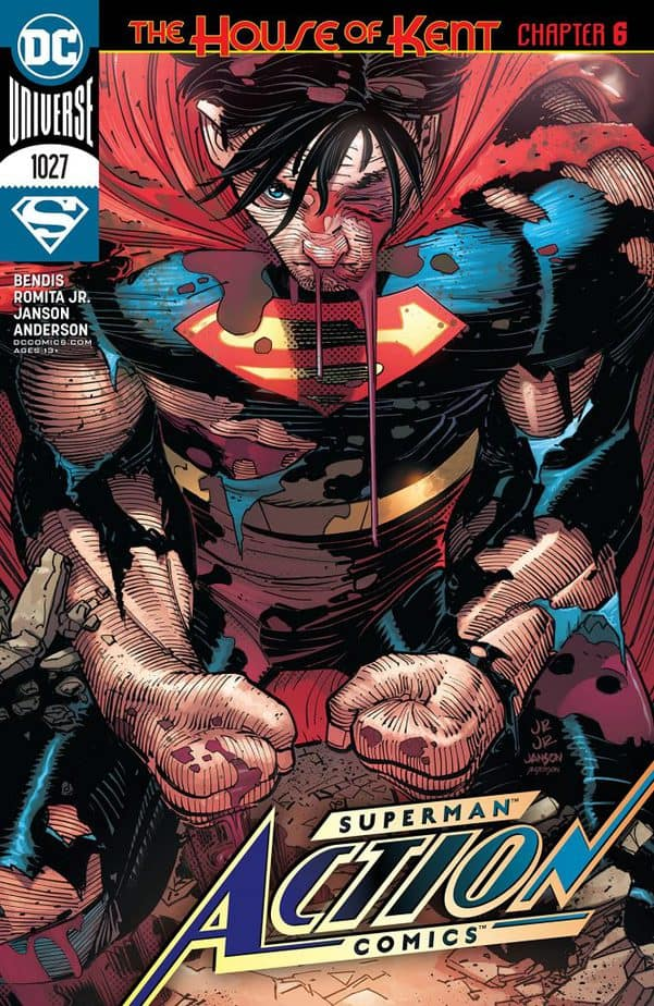 Superman destroys Star Labs in Action Comics #1027