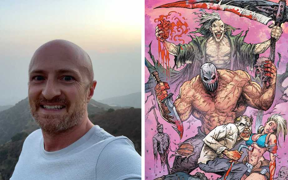 Adam Lawson Talks TV Writing and Comic Writing Header Image