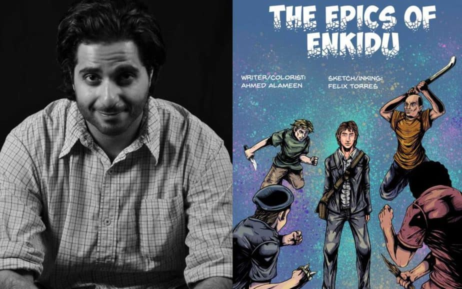 Ahmed Alameen on balancing Comic Writing with your Day Job
