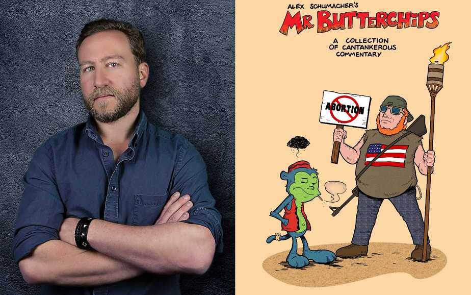 Alex Schumacher on Comic Writing, Cancel Culture & Mr Butterchips