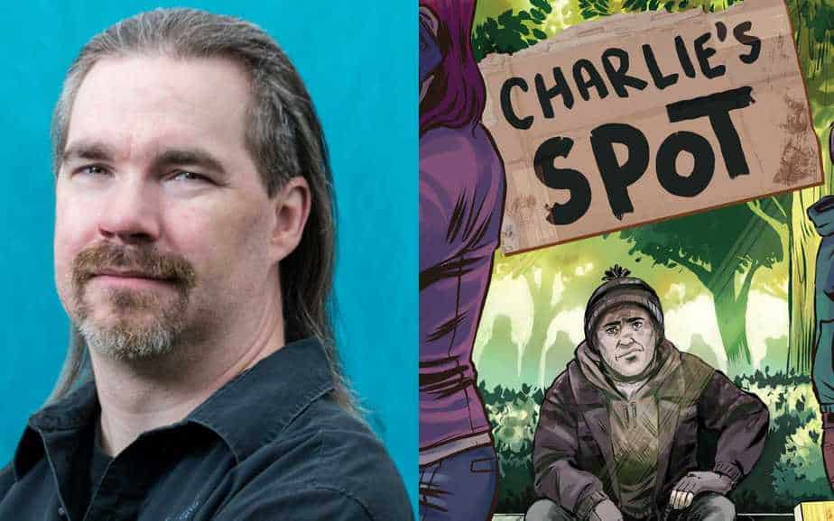 George O'Connor talks about his latest book Charlie's Spot