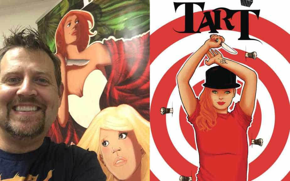 Kevin Joseph Talks Fantasy Comics and Tart (Scout Comics)