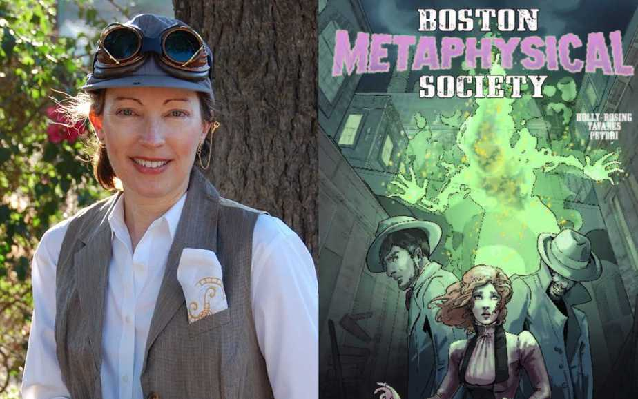 Madeleine Holly-Rosing on Creating Steampunk Comics