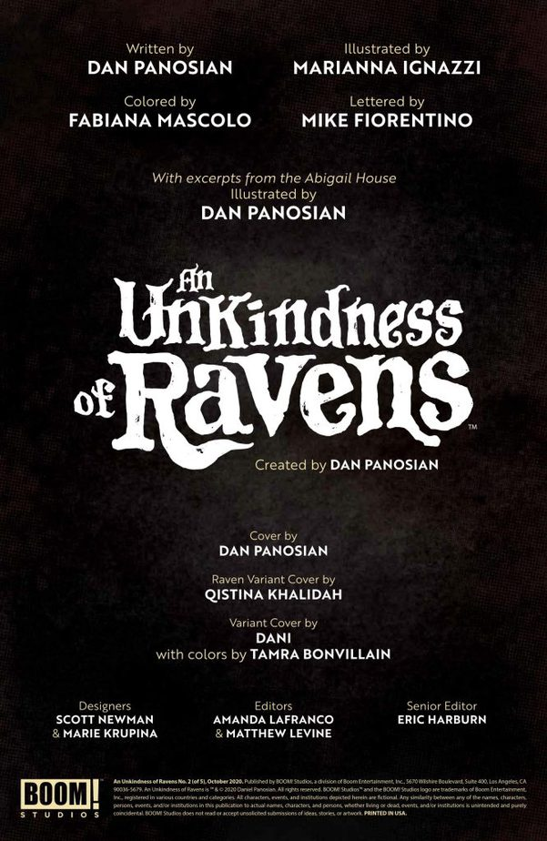 An Unkindness of Ravens #2 Reminds Us of The Craft 5