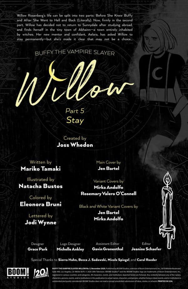 Willow Stands Up For Her Witchcraft in Willow #5 3