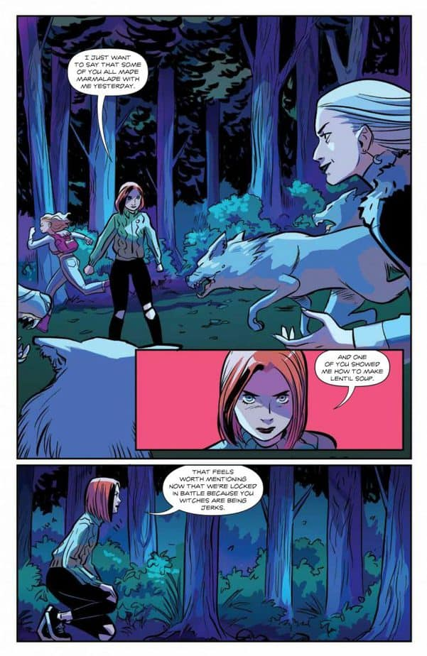 Willow Stands Up For Her Witchcraft in Willow #5 6
