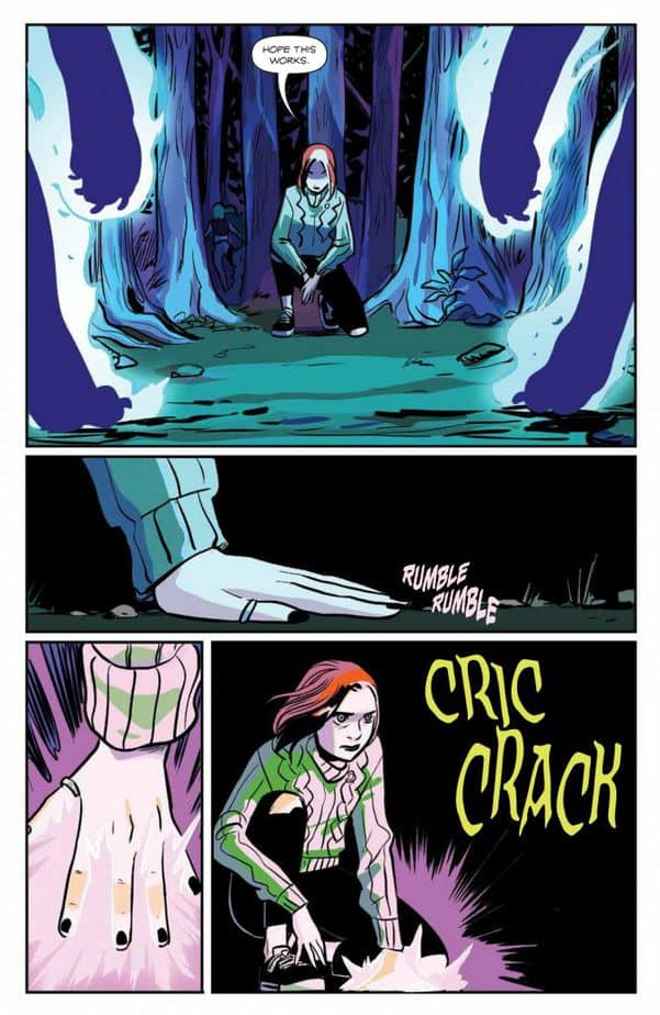 Willow Stands Up For Her Witchcraft in Willow #5 7