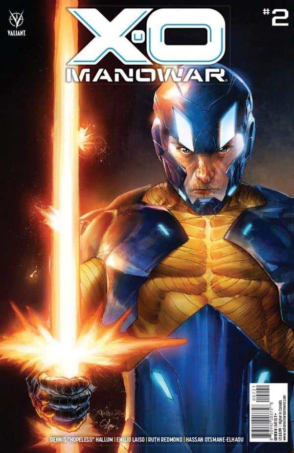 Ukraine is Destroyed in X-O Manowar #2 2