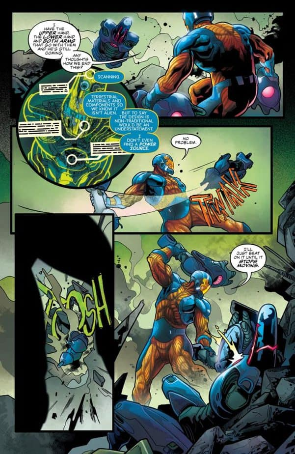 Ukraine is Destroyed in X-O Manowar #2 5