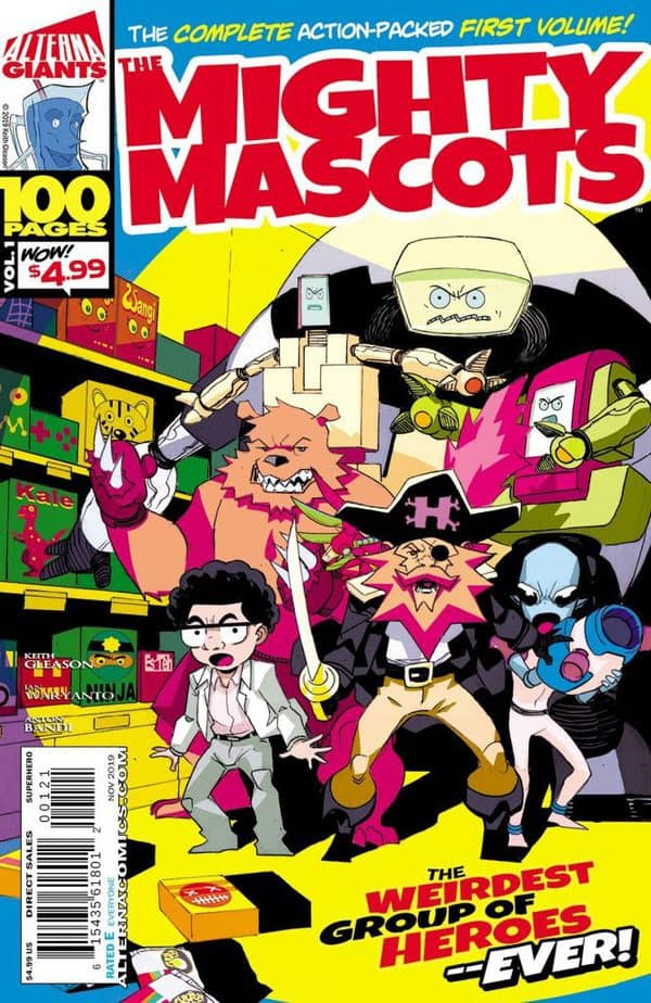 Keith Gleason Talks Superhero Punch Ups and Cereal
