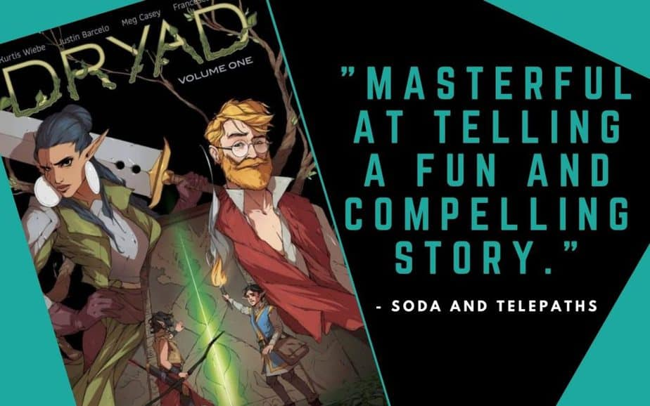 Dryad Comic Book A Fun and Compelling story