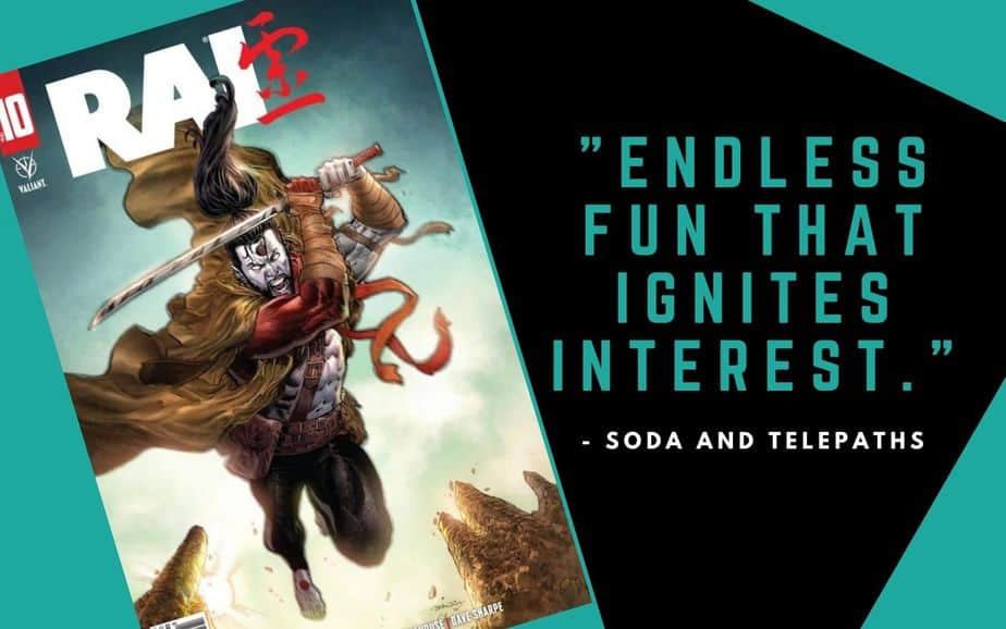 Rai #10 Comic Book Endless Fun That Ignites Interest in the Valiant Universe