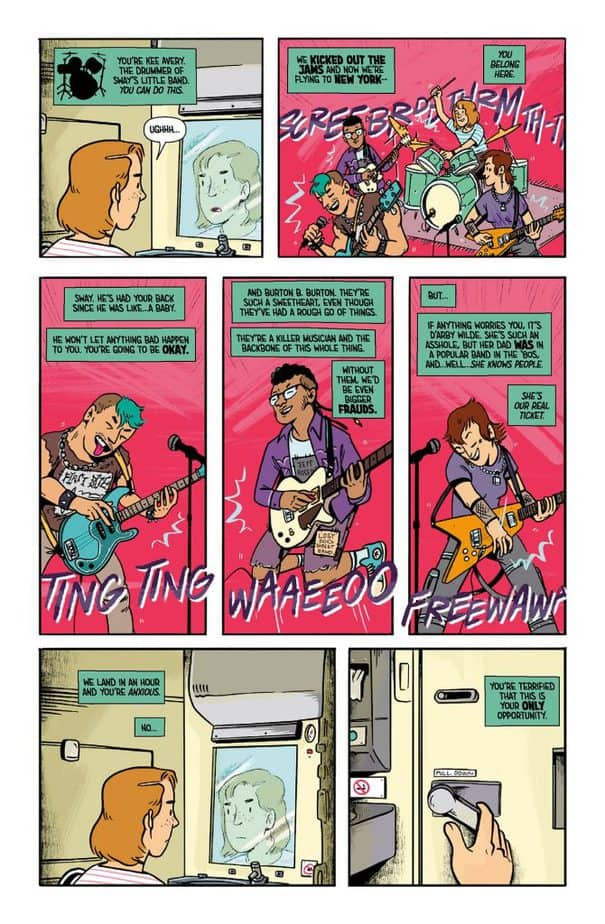 REVIEW: Terminal Punks #1 is the Punk Rock Refreshment You Need 2