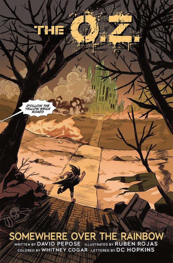 REVIEW: The O.Z. #1 Is A Genius War-Torn Story 2